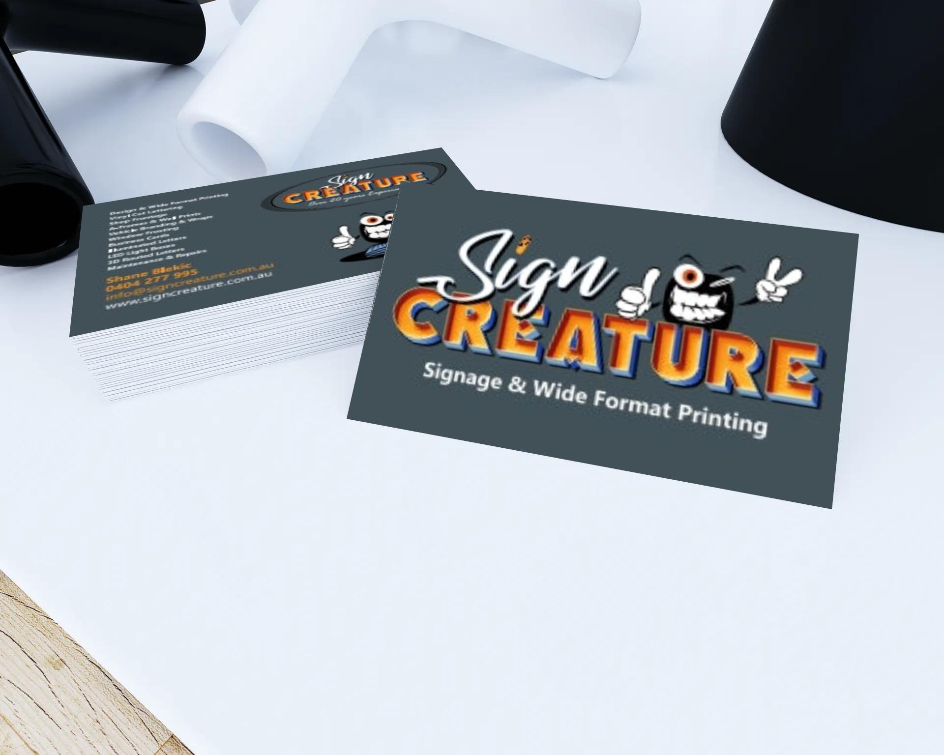 Sign Creature